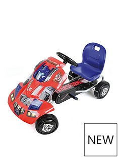 transformers-transformers-optimus-prime-go-kart