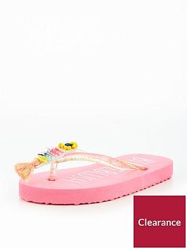 billieblush-girls-embellished-tassel-tucan-flip-flop