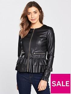 v-by-very-punbsppeplum-ruffle-jacket-black