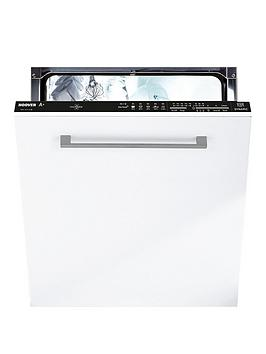 Hoover Hdi1Lo38B 13-Place, 60Cm Wide, One Touch Integrated Dishwasher  - Dishwasher Only