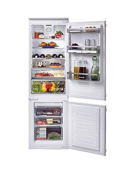 Hoover Bhbf172Nuk 177Cm High, 54Cm Wide, One Touch, Integrated Frost-Free Fridge Freezer - Fridge Freezer Only Best Price, Cheapest Prices