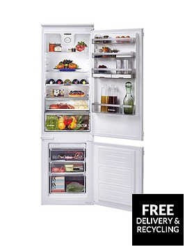hoover-bhbf182nuknbsp185cm-high-54cm-wide-integrated-frost-free-fridge-freezer-with-one-touch-white