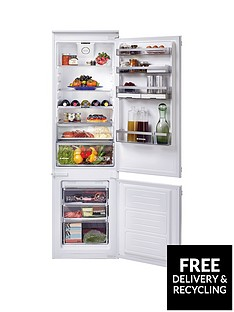 hoover-bhbf182nuknbsp185cm-high-54cm-wide-one-touch-integrated-frost-free-fridge-freezer-with-optional-installationnbsp--white