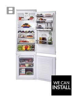 hoover-bhbf182nuknbsp185cm-high-54cm-wide-one-touch-integrated-frost-free-fridge-freezernbsp--white