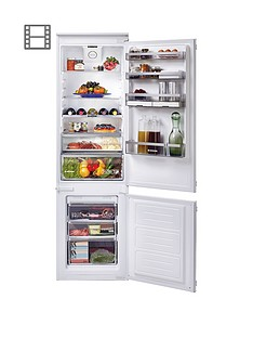 hoover-h-fridge-500nbspbhbf182nuknbsp185cm-high-54cm-wide-one-touch-integrated-frost-free-fridge-freezernbsp--white