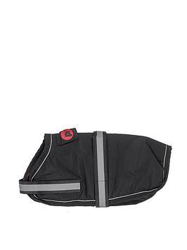 petface-super-soft-waterproof-dog-coat-black-35cm-x-42cm