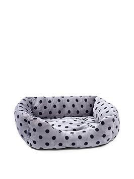 petface-grey-plush-square-bed-medium