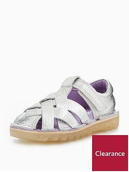 kickers-infant-girls-kick-weave-sandal-silver