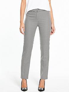 v-by-very-mini-check-straight-leg-trouser