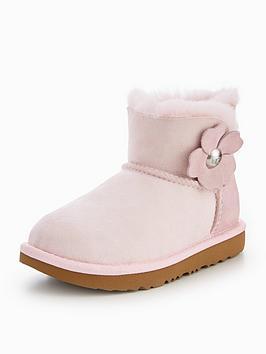 ugg-mini-bailey-button-poppy-boot