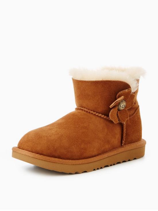 79fe226a545 UGG Mini Bailey Button Poppy Boot