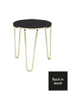 ideal-home-glam-side-tablenbsp--blackgoldnbsp