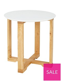 buy online 58bfc f19c8 Ideal Home Round Side Table | very.co.uk