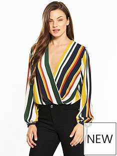 v-by-very-stripe-wrap-bodysuit