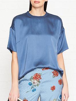 gestuz-kennedy-silk-t-shirt-blue