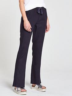 v-by-very-short-linen-trouser-navy