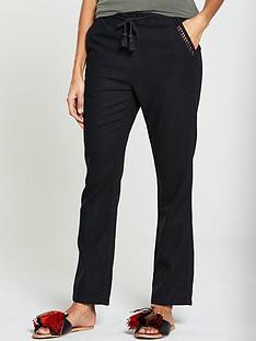 v-by-very-short-linen-trouser-black