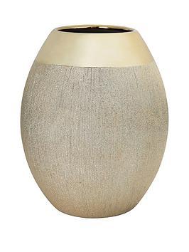 large-gold-glitter-vase