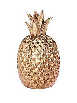 ceramic-metallic-pineapple-pot-ndash-gold