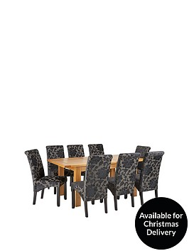 oakland-140nbsp-nbsp180-cm-solid-wood-extending-dining-table-8-oxford-chairs