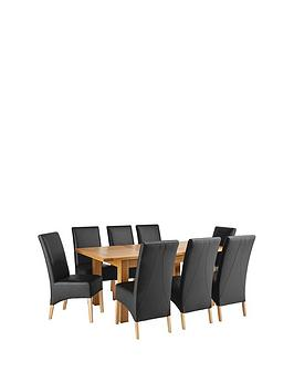 oakland-140-180-cm-solid-wood-extending-dining-table-8-eternity-chairs