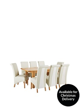 oakland-140nbsp-180-cm-solid-wood-extending-dining-table-8-sienna-chairs