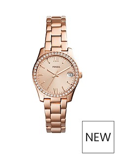 fossil-fossil-scarlette-ladies-rose-gold-stone-set-bezel-watch