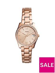 fossil-fossil-scarlette-ladies-rose-gold-stone-set-bezel-watch