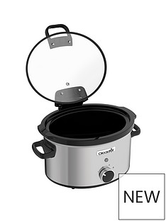 crock-pot-crockpot-csc044-35-litre-hinged-lid-slow-cooker-stainless-steel