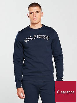 tommy-hilfiger-logo-crew-loungetop