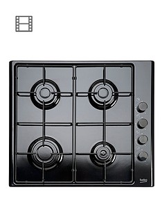 beko-hizg64120sb-60cm-built-in-gas-hob-with-fsd-black