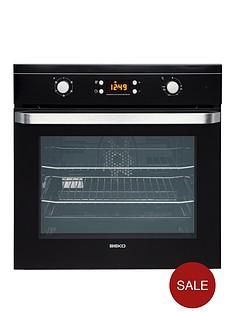 beko-oif21300b-60cm-electric-built-in-single-fan-oven-black