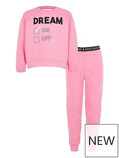 river-island-girls-pink-039dream039-sweatshirt-lounge-outfit