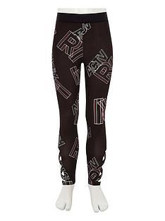 river-island-girls-ri-active-black-039ri039-print-leggings
