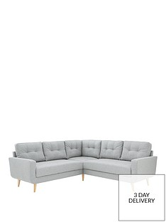 b8ba8e483707 Skandi Fabric Corner Group Sofa