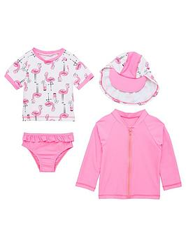 mini-v-by-very-4-piece-girls-sunsafe-set-pinkflamingo