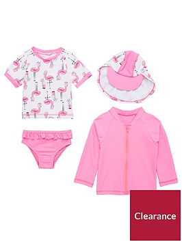 mini-v-by-very-4-piece-girls-sunsafe-set-pinkflamingo