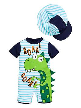 mini-v-by-very-boys-3d-dinosaur-spike-sunsafe-amp-hat