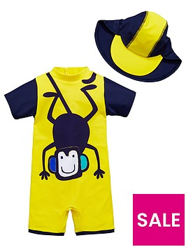 mini-v-by-very-2-piece-boys-monkey-sunsafe-and-hat-set-yellow