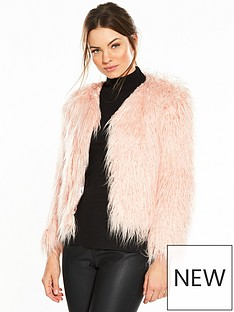 miss-selfridge-mongolian-faux-fur-coat