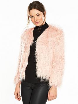 miss-selfridge-mongolian-faux-fur-coat