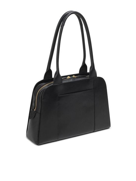 655471ba654 ... Radley Millbank Zip Top Tote Bag - Black. View larger