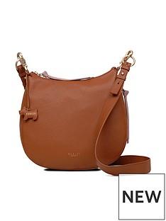 radley-radley-pudding-lane-tan-large-ziptop-cross-body-bag
