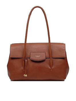 Radley Burnham Beeches Large Flapover Shoulder Bag - Tan