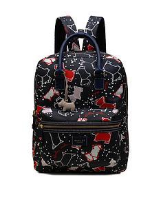 radley-radley-speckly-dog-large-zip-top-back-pack