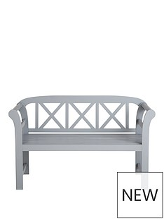 positano-2-seater-painted-wooden-bench