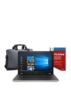 hp-15-intelreg-pentiumregnbsp8gb-ramnbsp1tb-hard-drive-156in-laptop-with-mcafee-internet-security-and-topload-case-gold