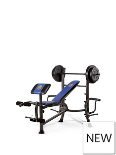 marcy-starter-bench-with-36kg-weight-set