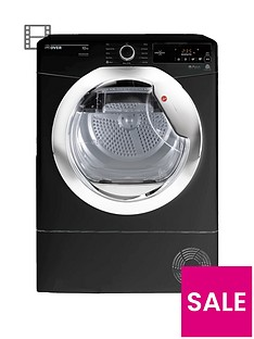 hoover-dynamic-next-dx-c10tceb-10kgnbspaquavision-condenser-tumble-dryer-with-one-touch-blackchrome
