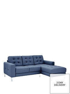 Blue Leather Sofas Sofas Home Garden Www Very Co Uk